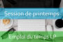 LP : Emploi du temps Session de printemps A.U/2017/2018