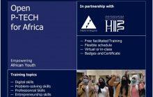Lancement des inscriptions pour le programme de formation certifiante Open P-TECH for Africa entre INJAZ Al-Maghrib et l'Université Hassan II de Casablanca