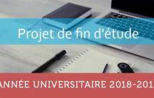 LEF - Projet de Fin d'Etudes : Répartition des étudiants par professeurs A.U 2018 - 2019